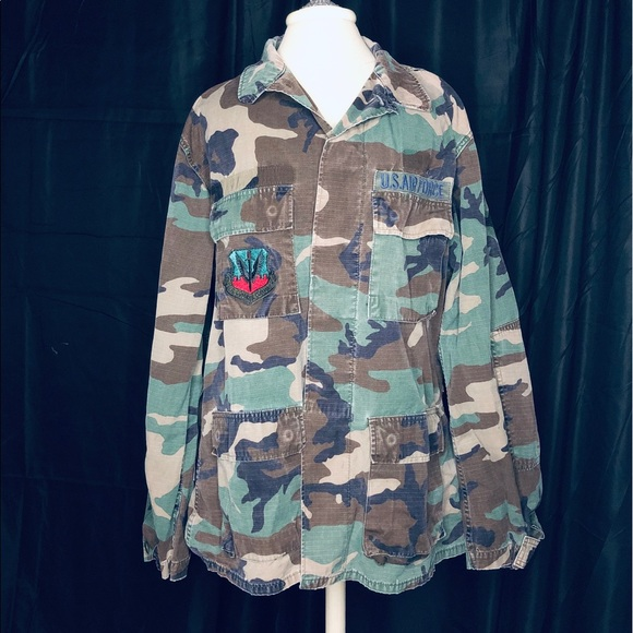 0f8bd4eb3094d American Apparel Jackets & Coats | Authentic Military Camo Air Force ...